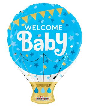 Folieballong Welcome Baby
